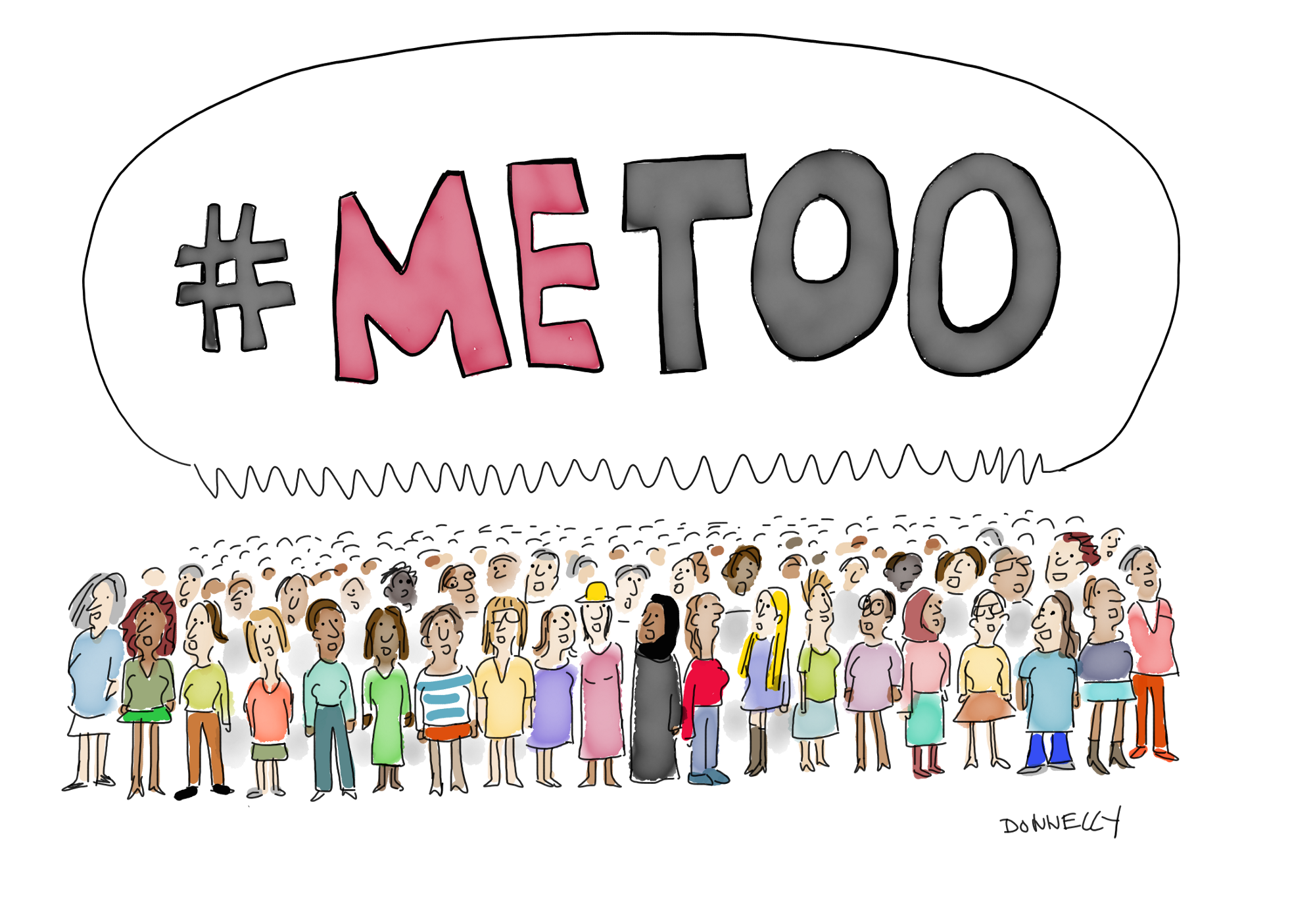 #metoo by donnelly