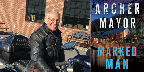 Marked Man, by Archer Mayor - Thursday, October 28 at 7pm ET