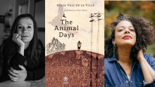 The Animal Days, by Keila Vall de la Ville - Tuesday, November 9 at 7pm ET